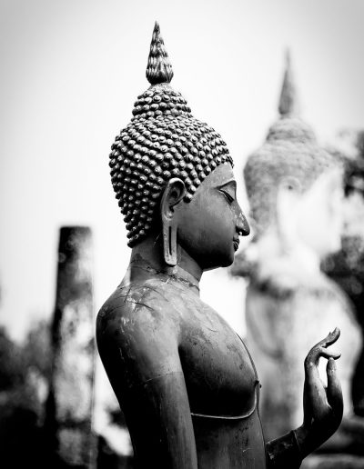 Buddha forming Mudra, Thailand
